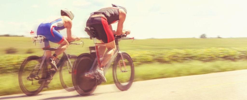 Aerodynamic cyclists